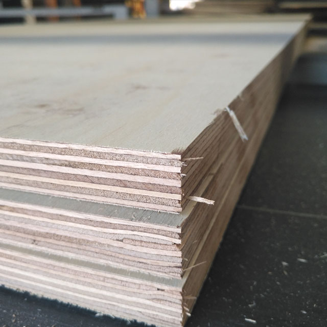 shuttering plywood before pressing film 1